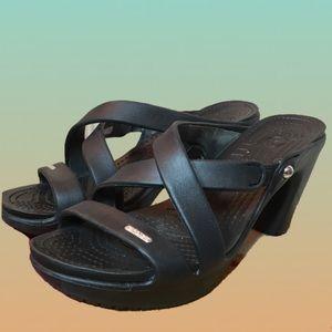 Crocs women's heels